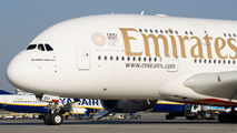 A6-EDU - Emirates Airlines Airbus A380 aircraft