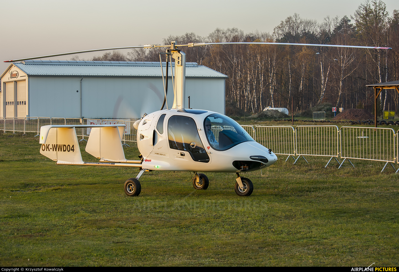 Private OK-WWD04 aircraft at Rybnik - Gotartowice