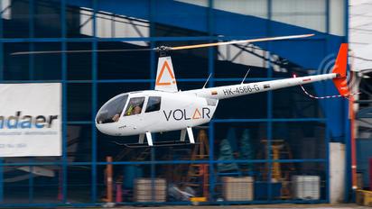 HK-4566-G - Volar Colombia Robinson R-44 RAVEN II