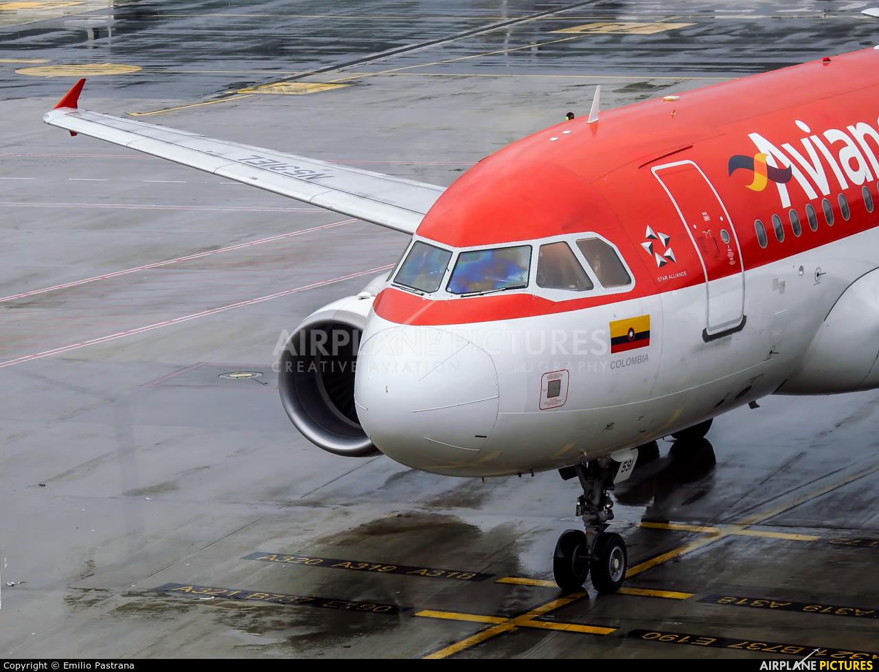 Avianca N591AV aircraft at Bogotá - Eldorado Intl