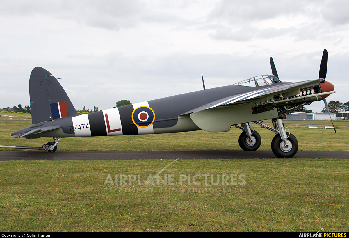 Royal Air Force ZK-BCV aircraft at Ardmore
