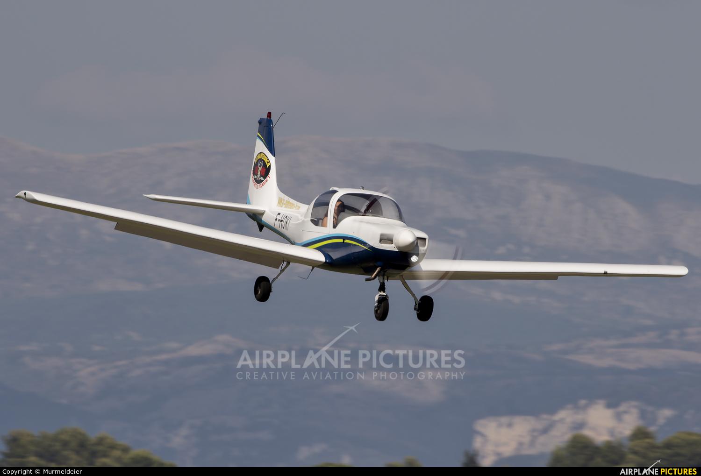 Private F-HOKI aircraft at Cannes - Mandelieu