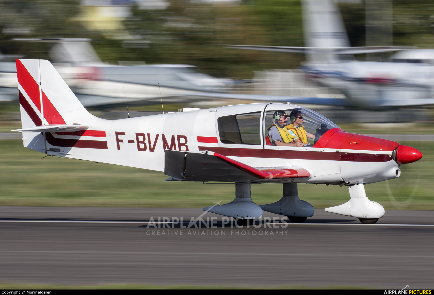 Private F-BVMB aircraft at Cannes - Mandelieu