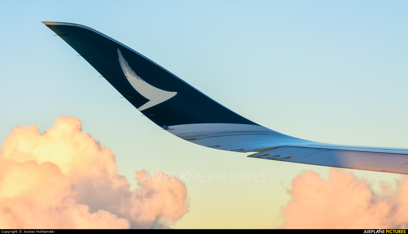 Cathay Pacific B-LRL aircraft at In Flight - International