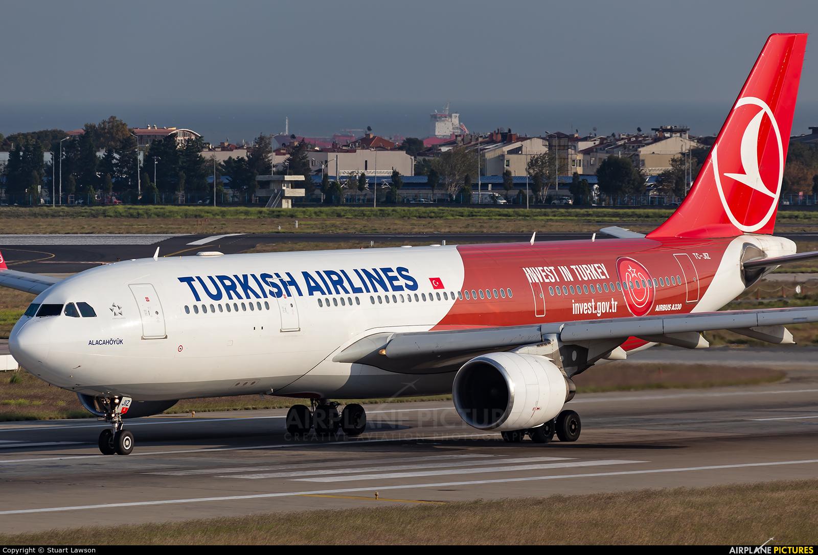 Turkish Airlines TC-JIZ aircraft at Istanbul - Ataturk