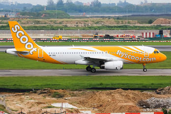 9V-TRS - Scoot Airbus A320