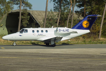 D-ILHE - Lufthansa Flight Training Cessna 525 CitationJet