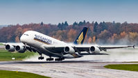 #2 Singapore Airlines Airbus A380 9V-SKU taken by Adrian Duna
