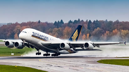#1 Singapore Airlines Airbus A380 9V-SKU taken by Adrian Duna