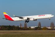 Rare visit of Iberia A340 to Paris title=