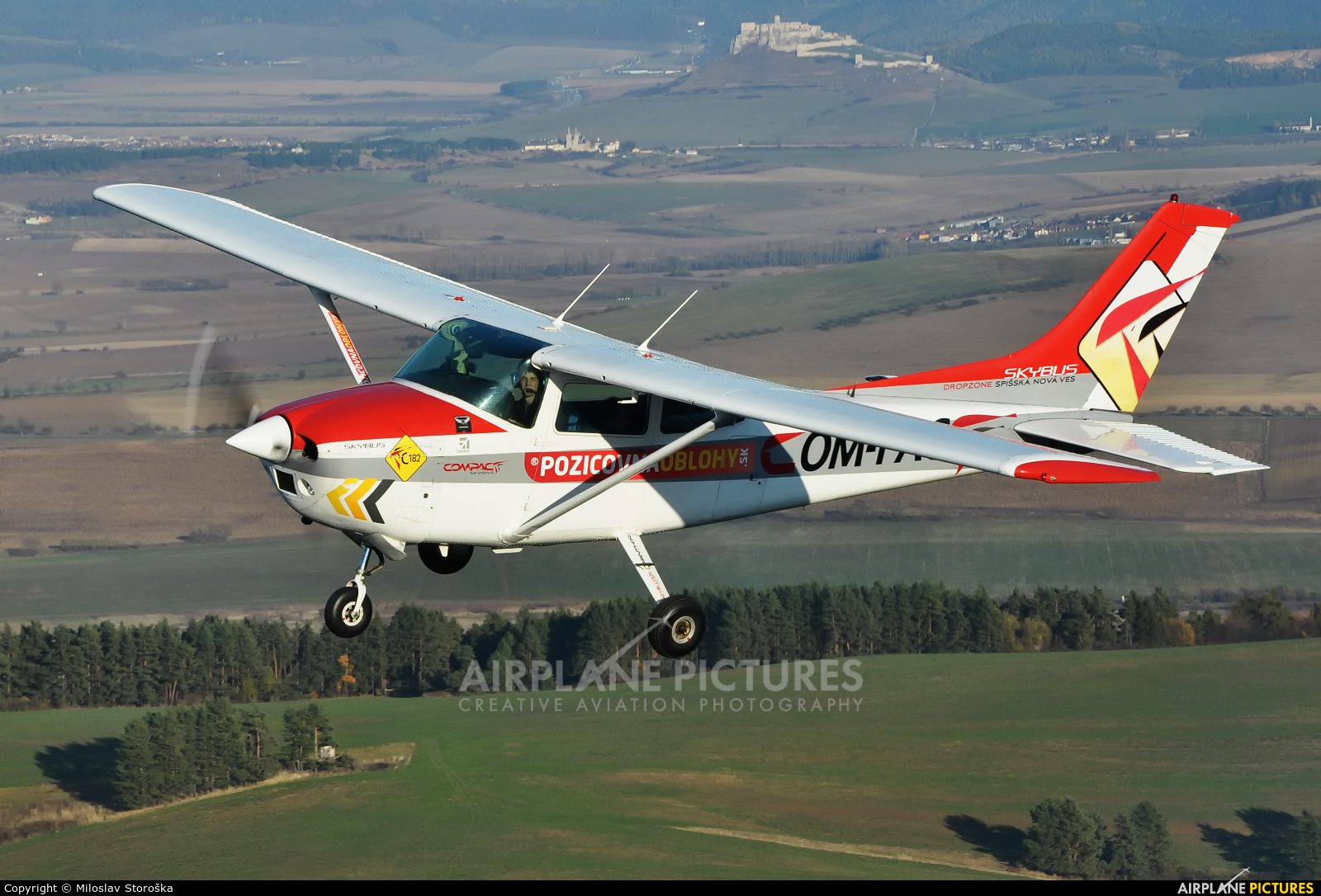 Compact OM-PAC aircraft at In Flight - Slovakia