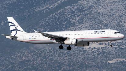 SX-DNH - Aegean Airlines Airbus A321