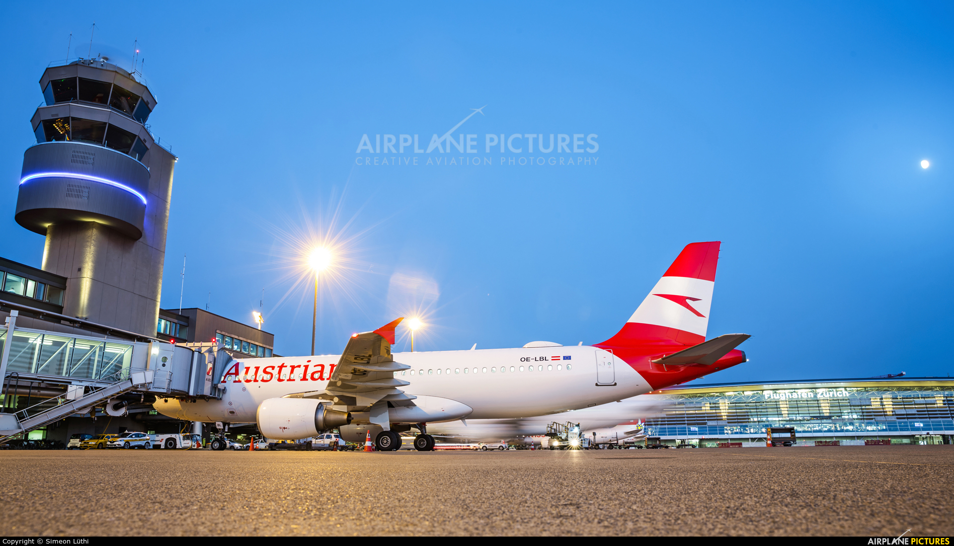 Austrian Airlines/Arrows/Tyrolean OE-LBL aircraft at Zurich