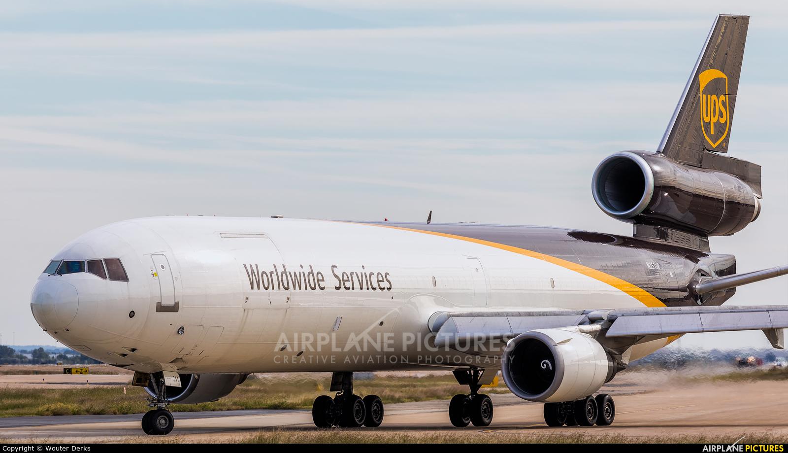UPS - United Parcel Service N251UP aircraft at Dallas - Fort Worth Intl