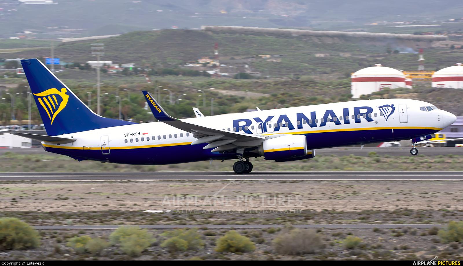 Ryanair SP-RSM aircraft at Tenerife Sur - Reina Sofia