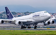 D-ABVM - Lufthansa Boeing 747-400 aircraft