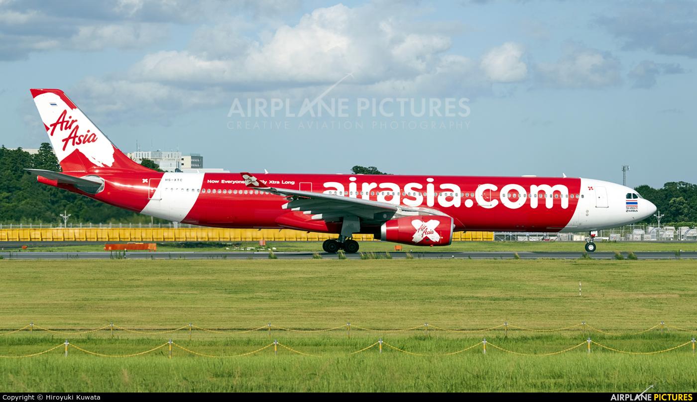 AirAsia X HS-XTC aircraft at Tokyo - Narita Intl