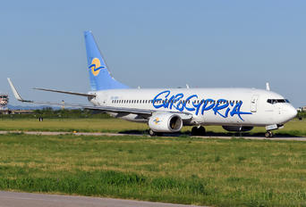 5B-DBV - Eurocypria Airlines Boeing 737-800