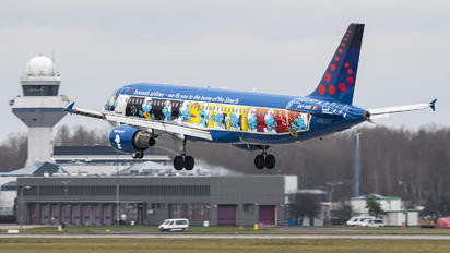 OO-SND - Brussels Airlines Airbus A320