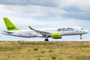 YL-CSF - Air Baltic Bombardier CS300 aircraft