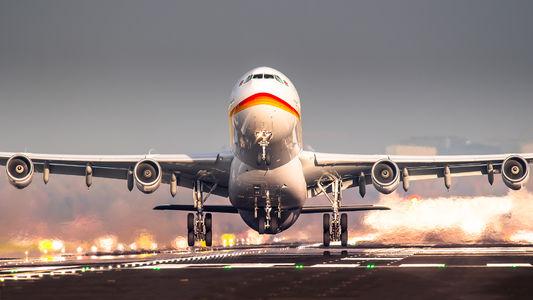 #1 Surinam Airways Airbus A340-300 PZ-TCR taken by Dennis Janssen