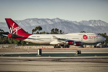 N744VG - Virgin Galactic Boeing 747-400