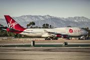 N744VG - Virgin Galactic Boeing 747-400 aircraft