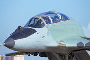 "53 - Russia - Air Force ""Strizhi"" Mikoyan-Gurevich MiG-29UB aircraft"