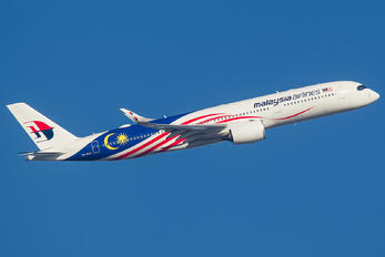 9M-MAG - Malaysia Airlines Airbus A350-900