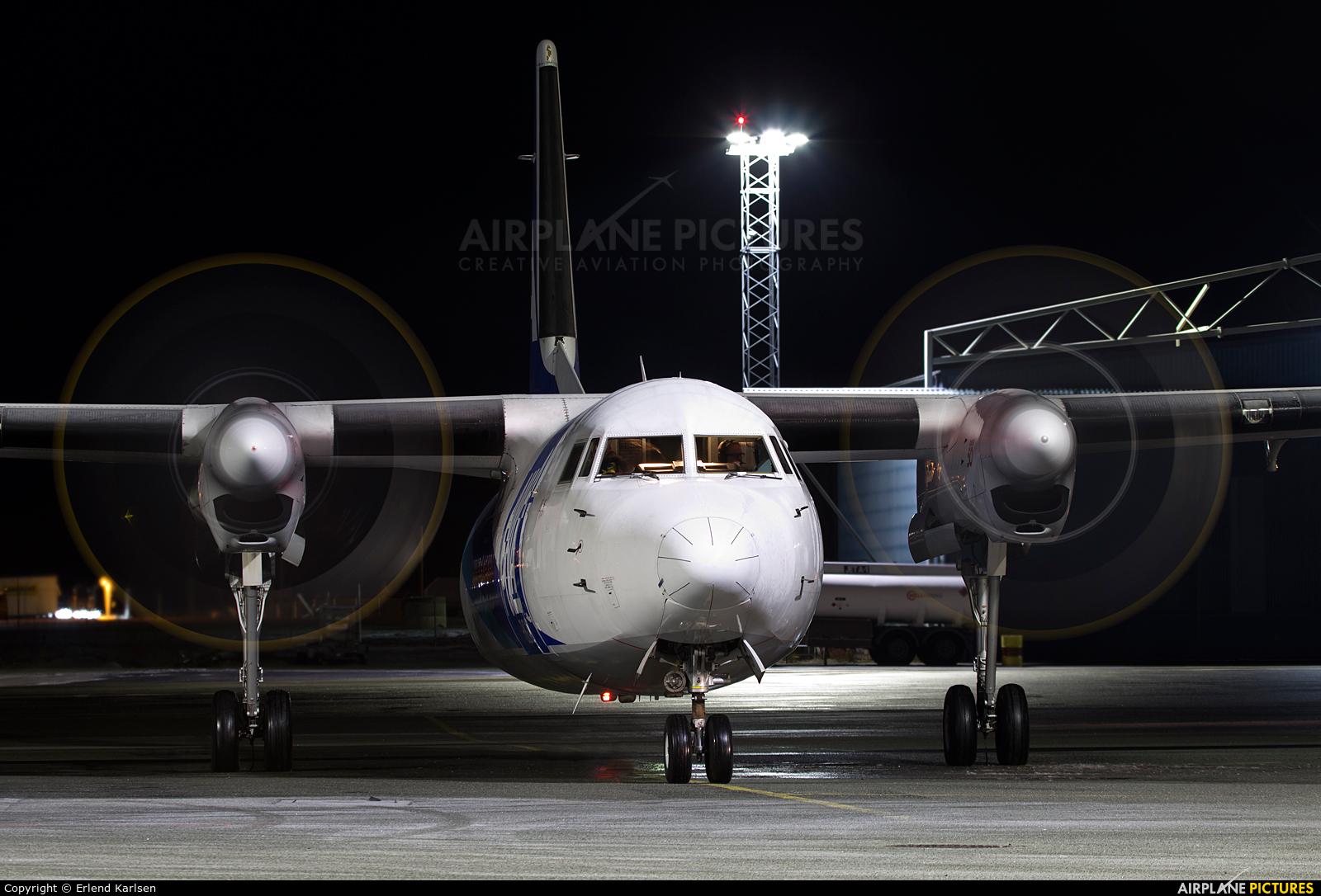 AmaPola Flyg SE-LJY aircraft at Trondheim - Vaernes