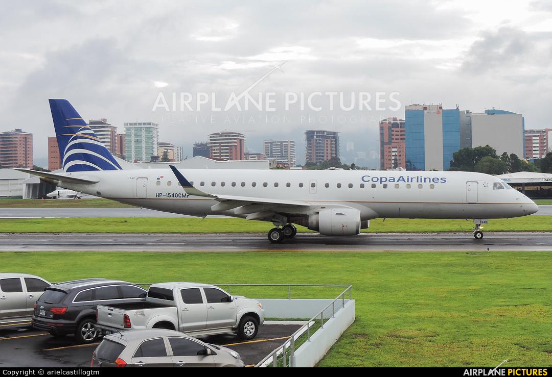 Copa Airlines HP-1540CMP aircraft at Guatemala - La Aurora