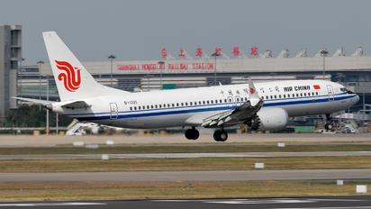 B-1221 - Air China Boeing 737-8 MAX