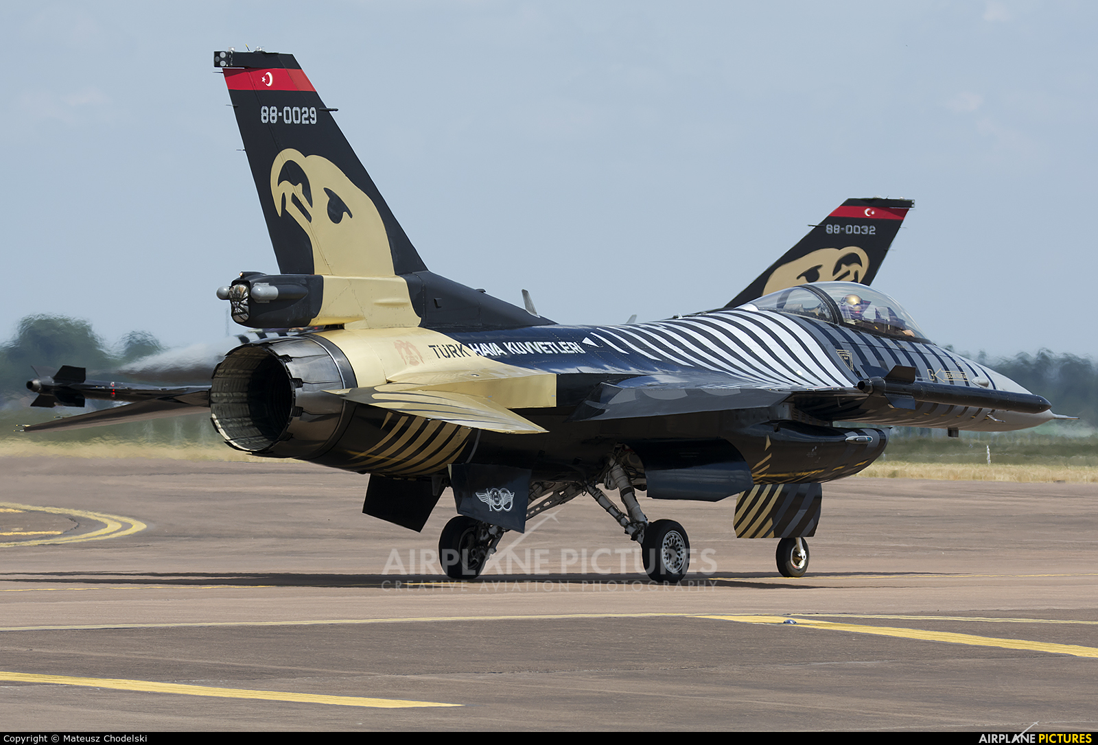 Turkey - Air Force 88-0029 aircraft at Fairford