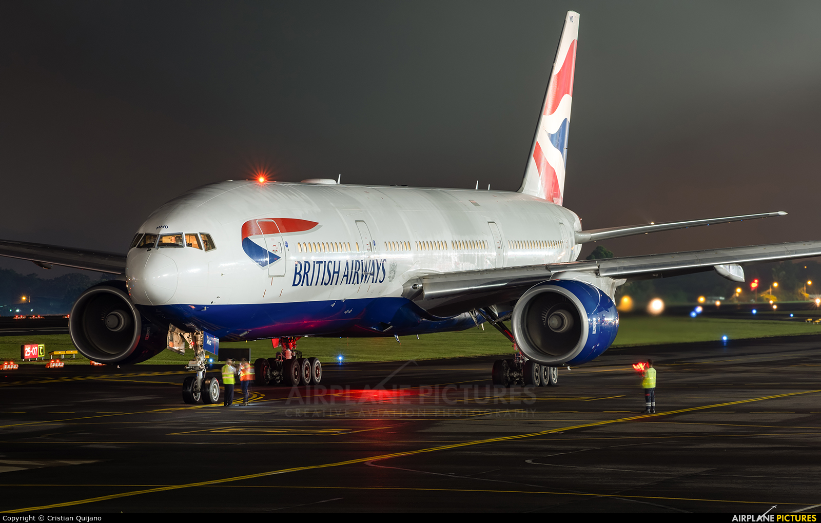 British Airways G-YMMD aircraft at San Jose - Juan Santamaría Intl