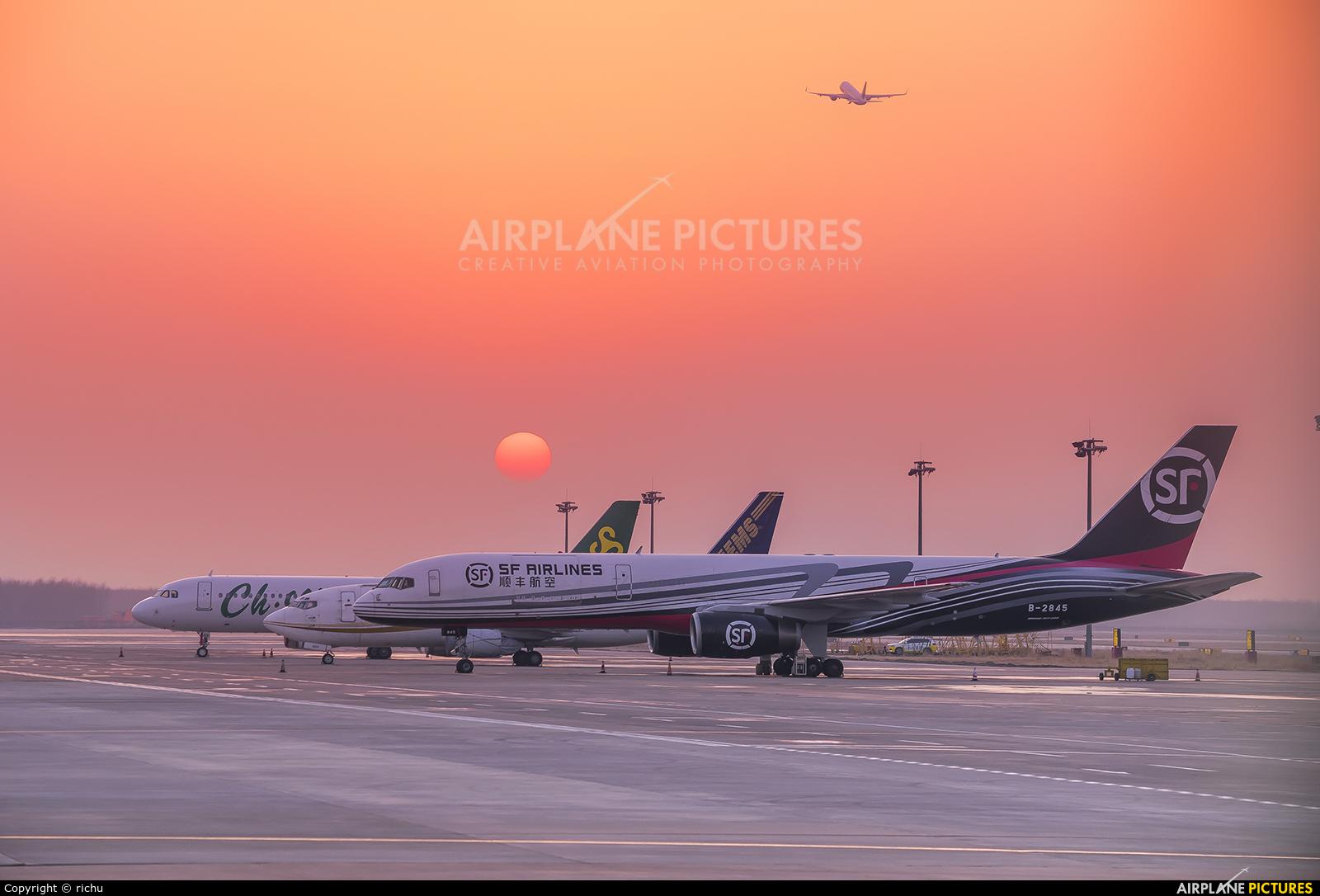 SF Airlines B-2845 aircraft at Shenyang-Taoxian