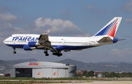 EI-XLG - Transaero Airlines Boeing 747-400 aircraft