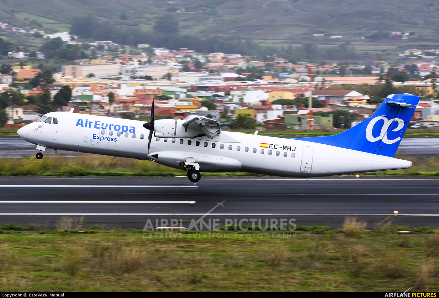 Air Europa Express EC-MHJ aircraft at Tenerife Norte - Los Rodeos