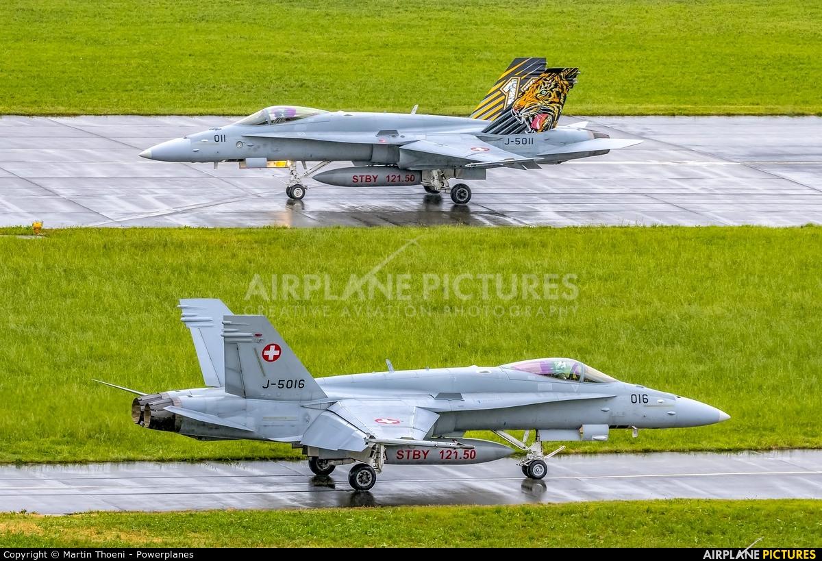 Switzerland - Air Force J-5016 aircraft at Emmen