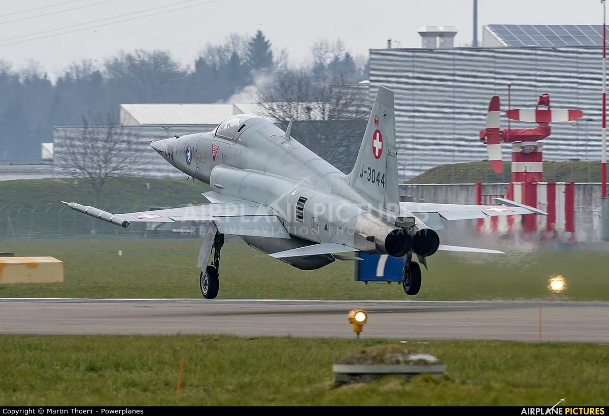 Switzerland - Air Force J-3044 aircraft at Emmen