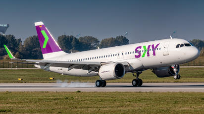 D-AXAZ - Sky Airlines (Chile) Airbus A320 NEO
