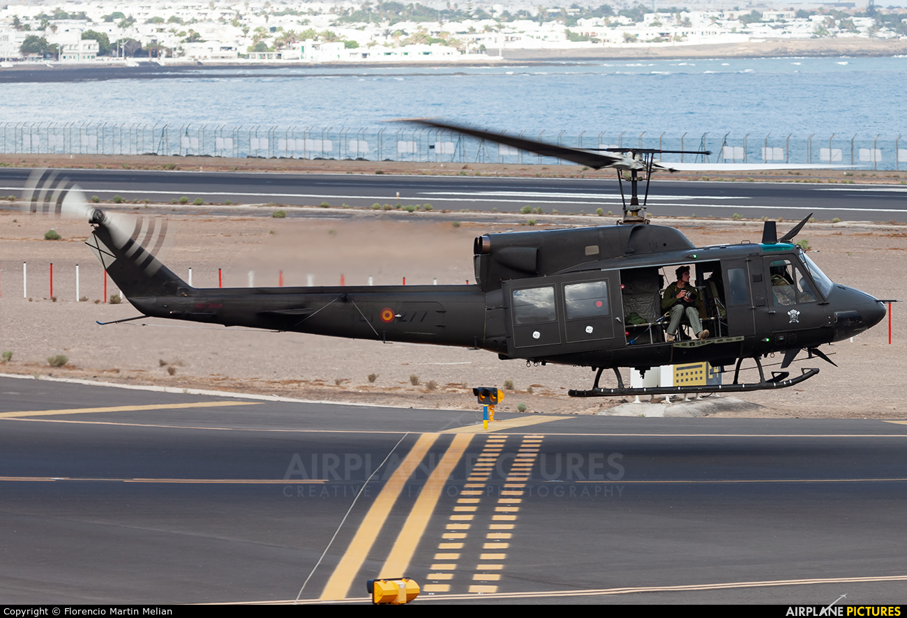 Spain - FAMET HU.18-16 aircraft at Lanzarote - Arrecife