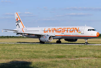 EI-LVA - Livingston Energy Flight Airbus A321