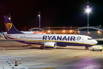 EI-FZX - Ryan Air Boeing 737-800