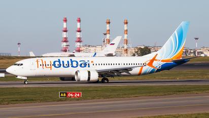 A6-FMB - flyDubai Boeing 737-8 MAX