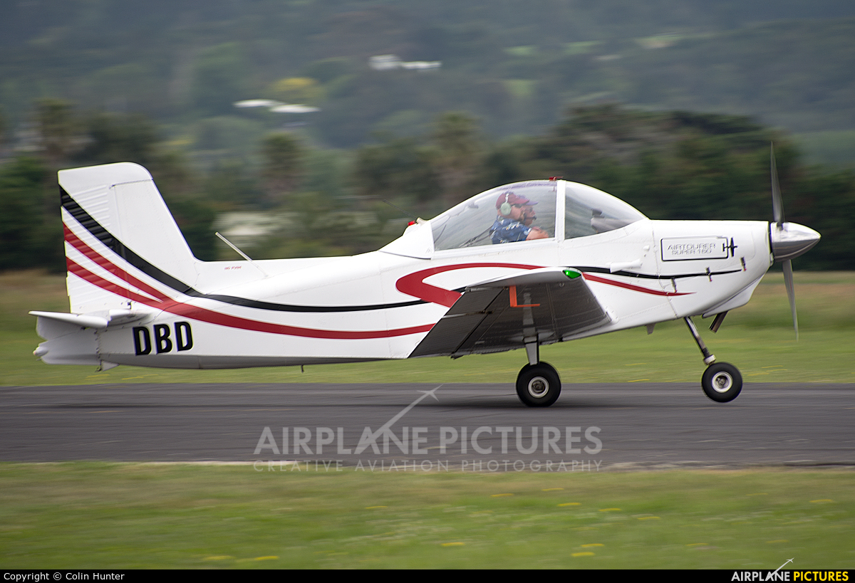 Private ZK-DBD aircraft at Ardmore