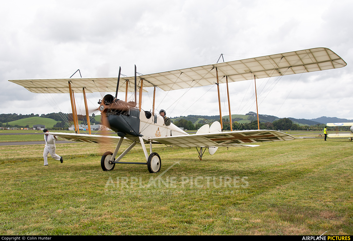 Royal Flying Corps ZK-VCM aircraft at Ardmore