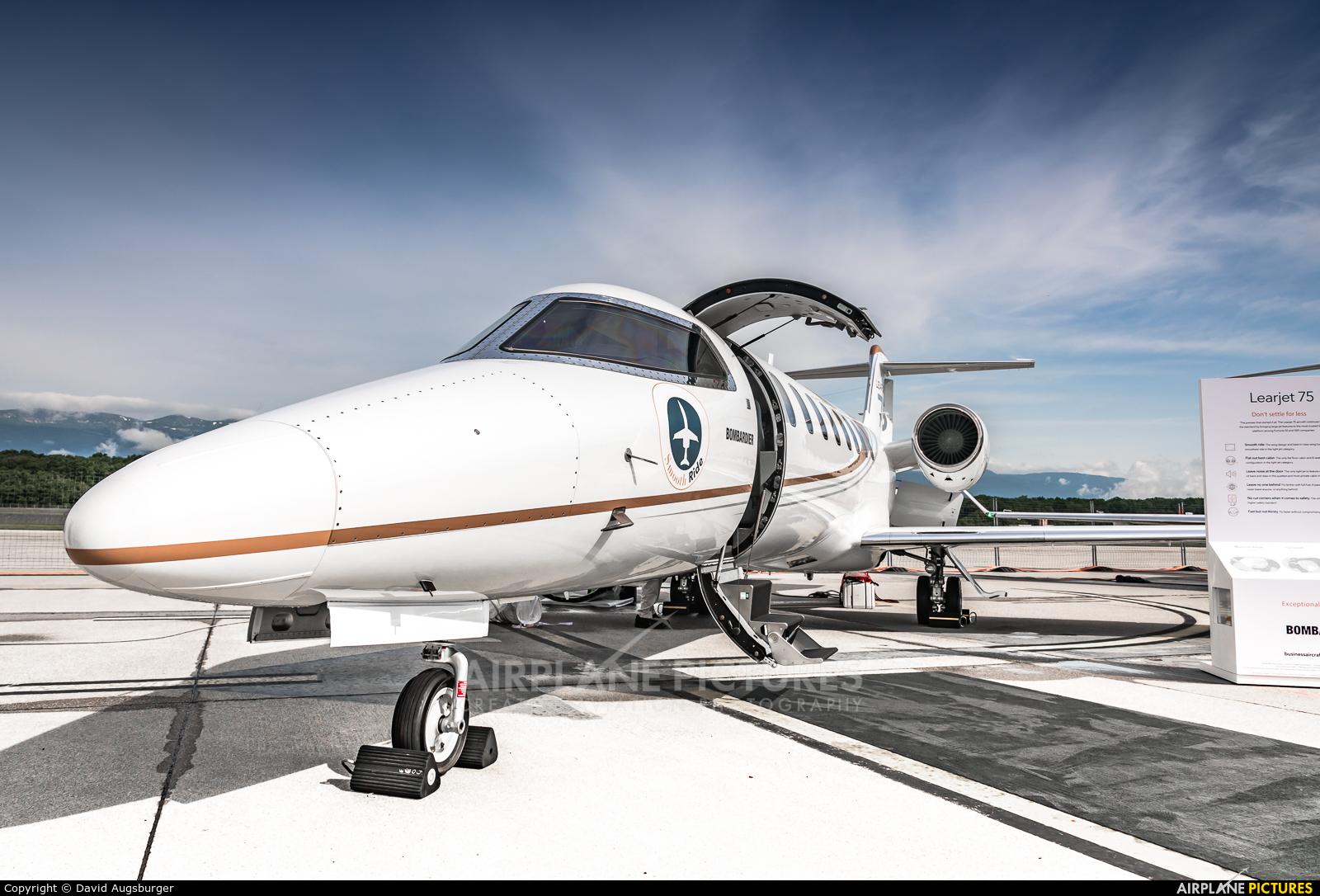 Bombardier N751LJ aircraft at Geneva Intl