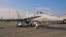 C.15-59 - Spain - Air Force McDonnell Douglas EF-18A Hornet aircraft