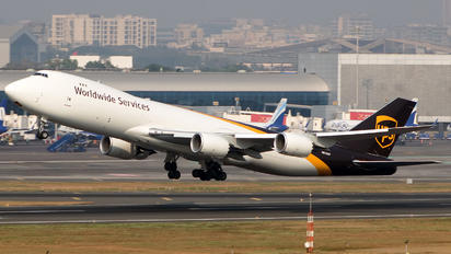 N610UP - UPS - United Parcel Service Boeing 747-8F