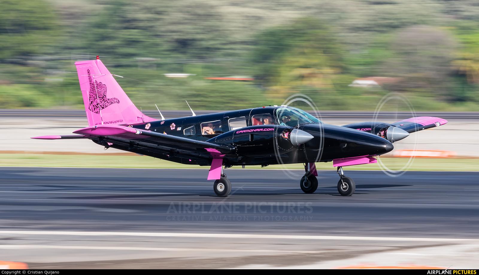 Carmonair TI-API aircraft at San Jose - Juan Santamaría Intl